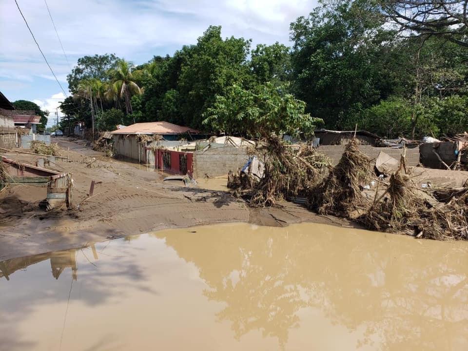 Chamelecón catástrofe