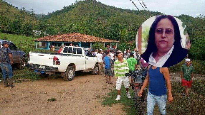maestra ahogada río Guacoca