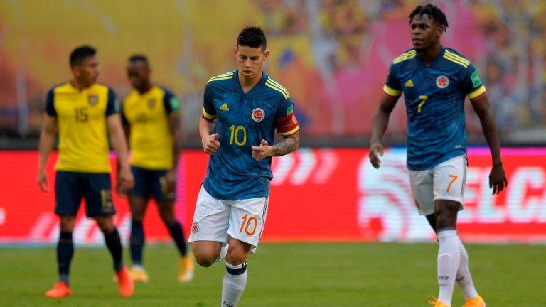 TRIFULCA: Reportan pelea de James Rodríguez tras goleada de Ecuador