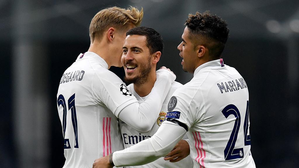 El Real Madrid se aleja de la Europa League en el Giuseppe Meazza