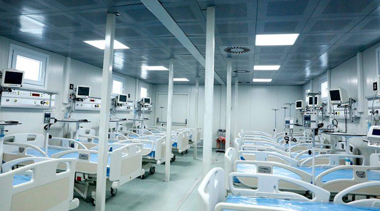 En febrero 2021 funcionarían todos los hospitales móviles; afirma interventor