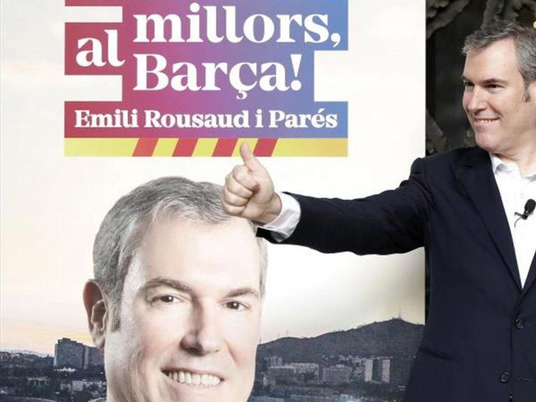 Barcelona: Rousaud comienza a ganar adeptos tras ambiciosa propuesta