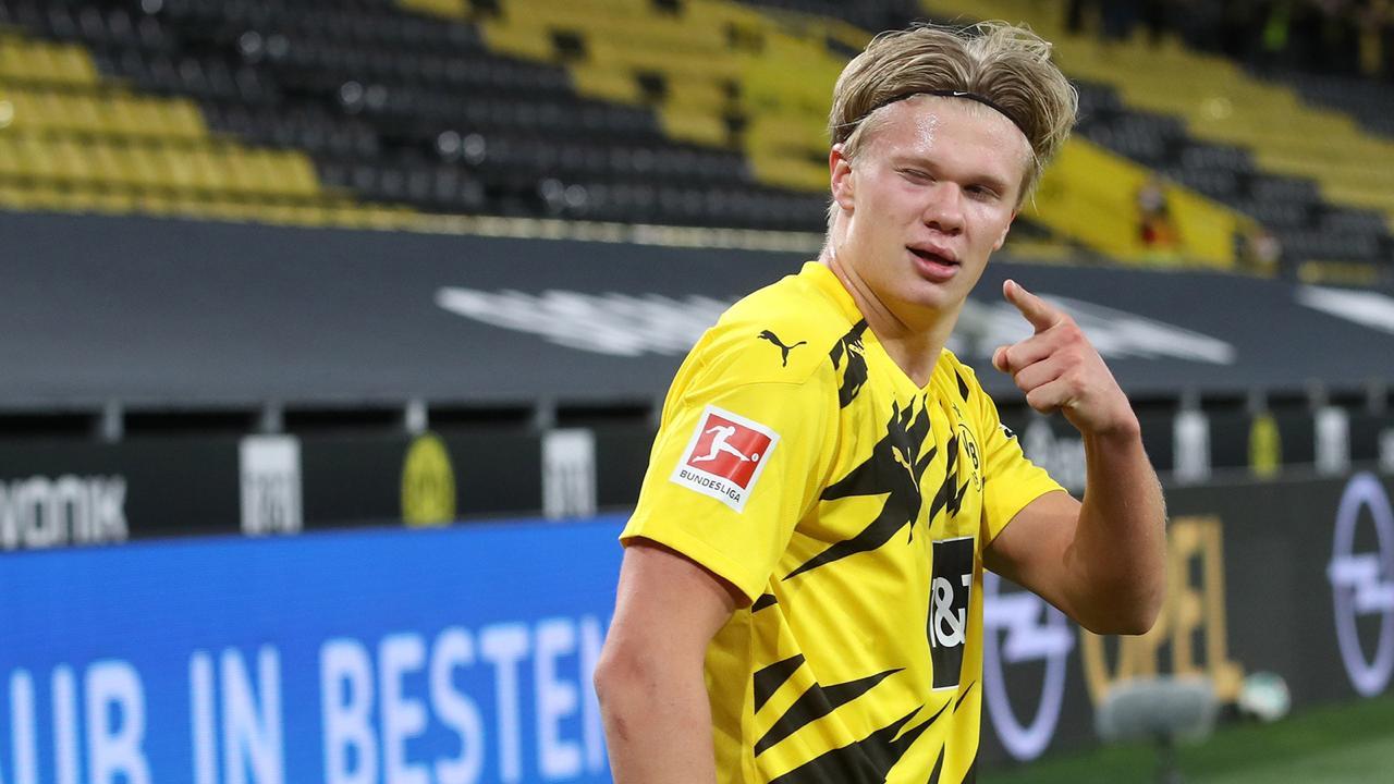 Borussia Dortmund anuncia que hará lo imposible para mantener a Haaland