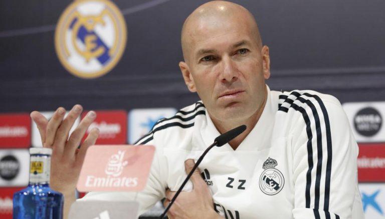 Zidane: «No es un problema de actitud, esto es fútbol»