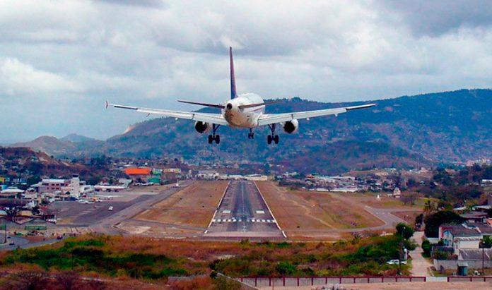 Proyecto vuelos internacionales Toncontín