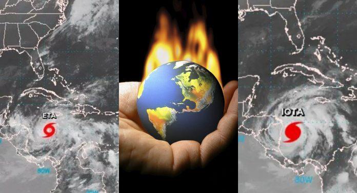 cambio climático Eta Iota