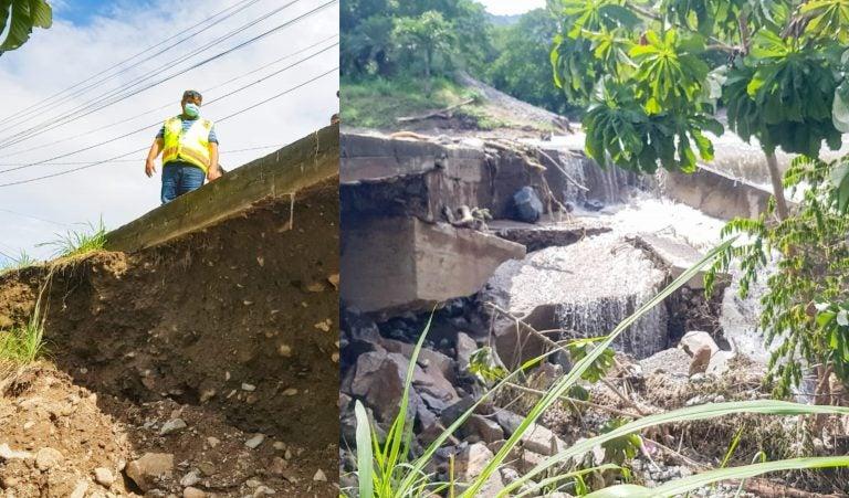 Indefinidamente: Municipalidad de SPS cierra vados de la Juan Lindo y Colombia