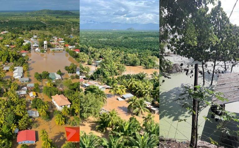 ¡Choloma en agonía! viviendas y hasta cultivos perdidos; devastación tras Eta e Iota