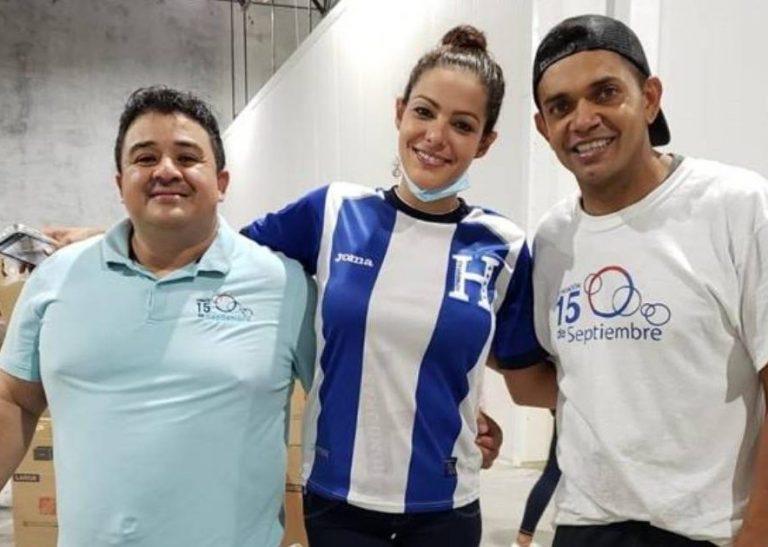 EEUU: famosos hondureños brindan ayuda en recolecta para damnificados