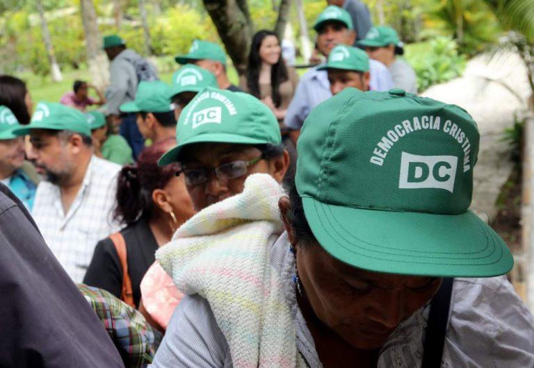 """Inscripción """"no cuesta ni un centavo"""", asegura directivo del partido político DC"""