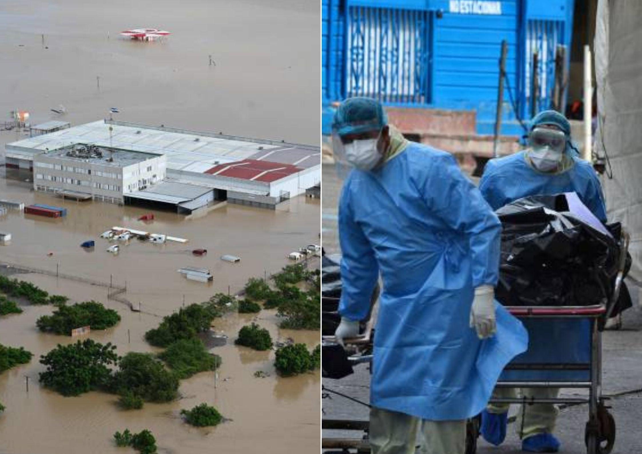 fosdeh pérdidas huracanes pandemia