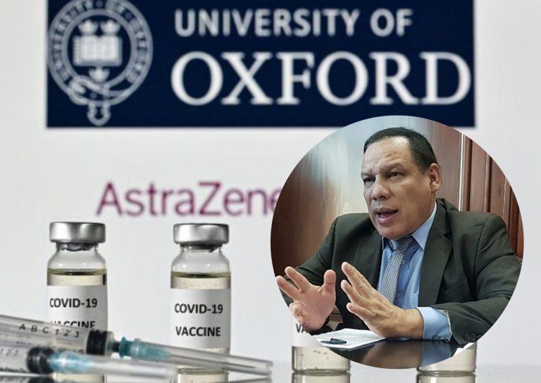"""Medina: Honduras priorizó conseguir vacuna con """"sistema garantizado""""; ¿y la de Oxford?"""
