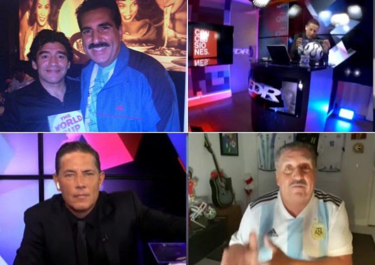 Conoce la cómica historia de Fernando Fiore y Fernando del Rincón con Maradona