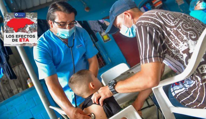 médicos salvadoreños Honduras