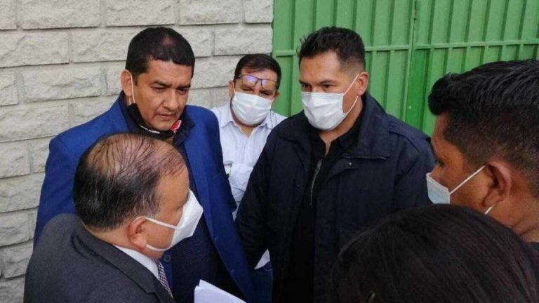 INÉDITO: Presidente de federación de Bolivia arrestado durante partido eliminatorio