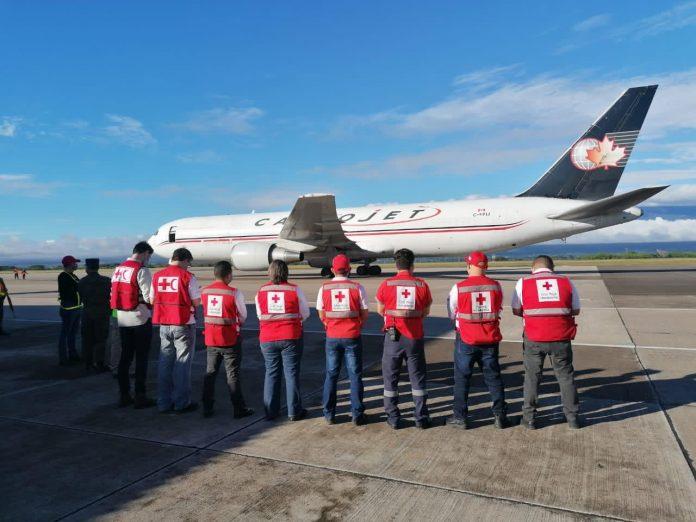 Cruz Roja Hondureña ayuda humanitaria