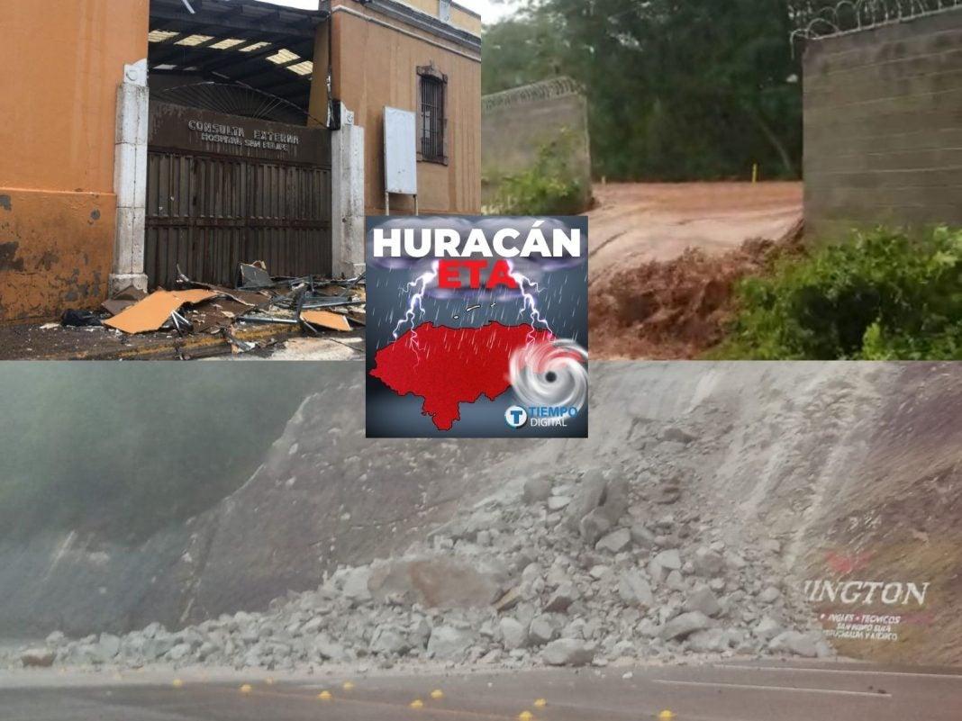 Centro Sur oriente daños ETA