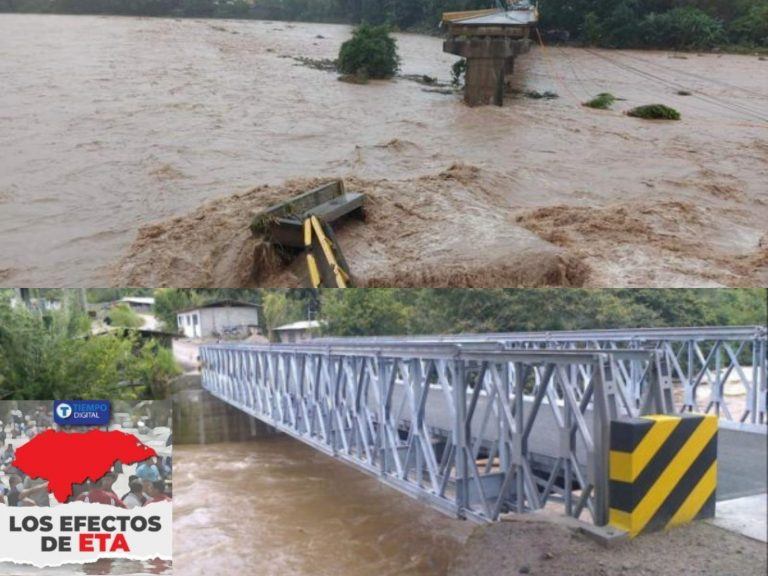 Expertos: Puentes Bailey son la mejor opción para rehabilitar vías de comunicación