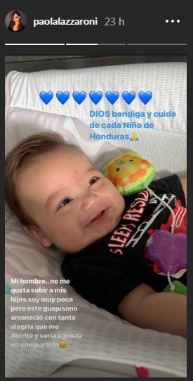 Bebé de Paola
