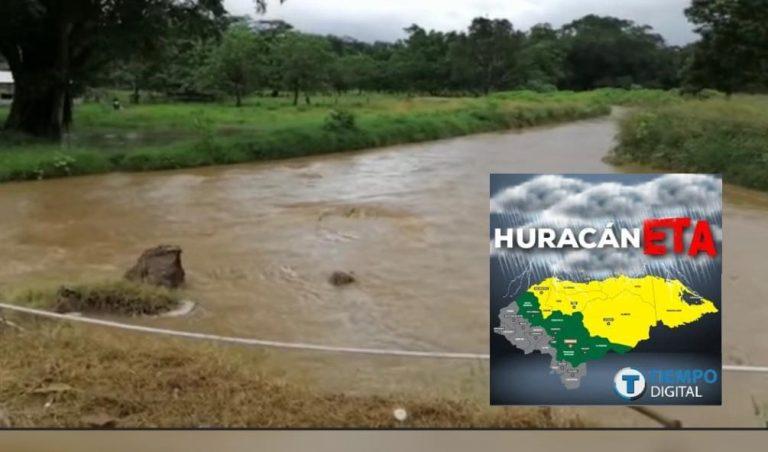 Huracán ETA: ríos desbordados e inundaciones en el occidente del país