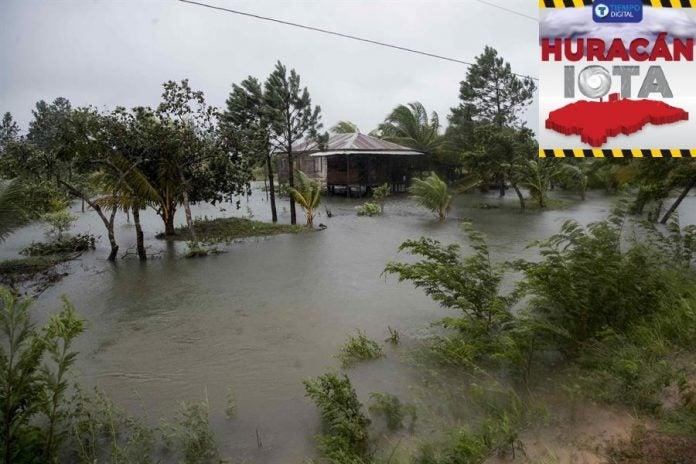 calles riesgo inundaciones valle de sula