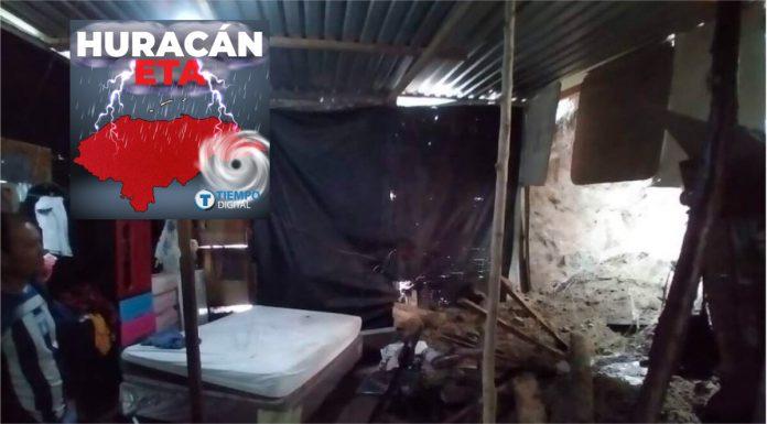 huracán eta niña muere derrumbe