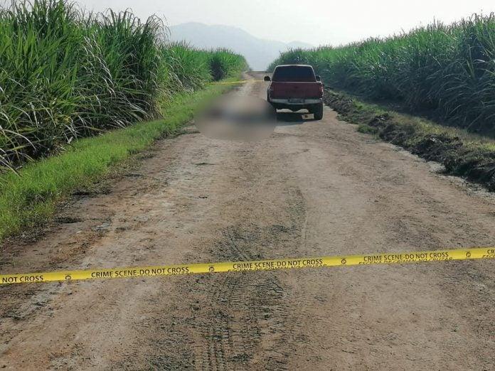 hombres asesinados cañeras Villanueva