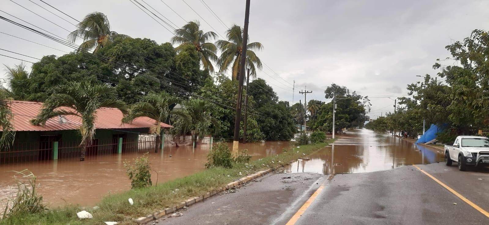 carretera de El Progreso a SPS