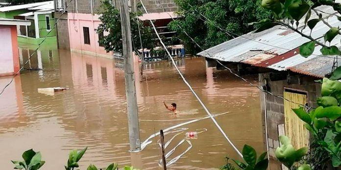 Inundaciones Valle de Sula
