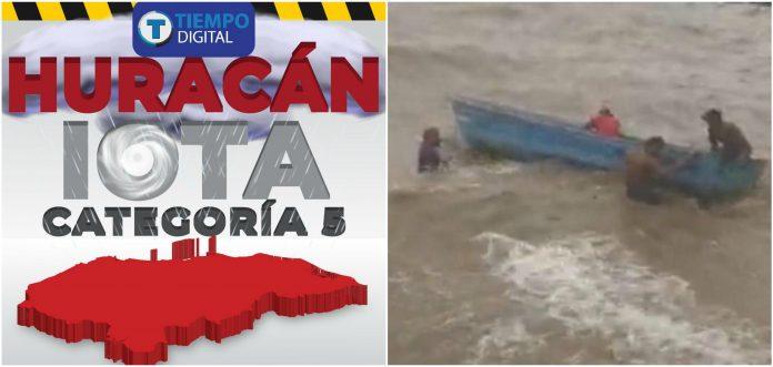 Iota en Honduras