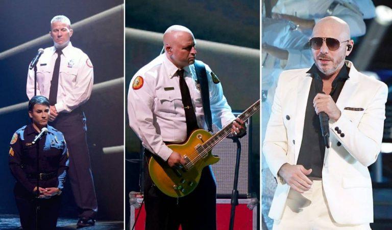 En premios Latin Grammy, Pitbull reconoce a trabajadores de salud