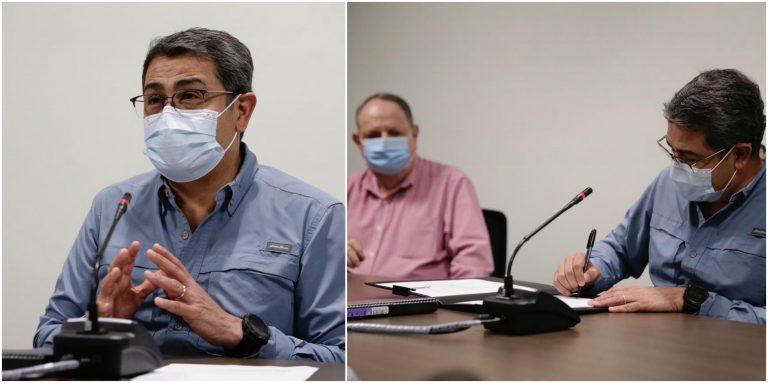 JOH plantea que Honduras «ha sido campeón mundial de vacunación»
