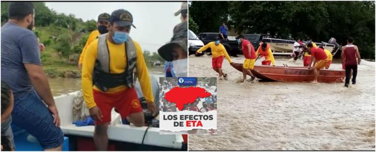 Eta: bombero rescató aproximadamente 600 hondureños; soñaba con ayudar a otros
