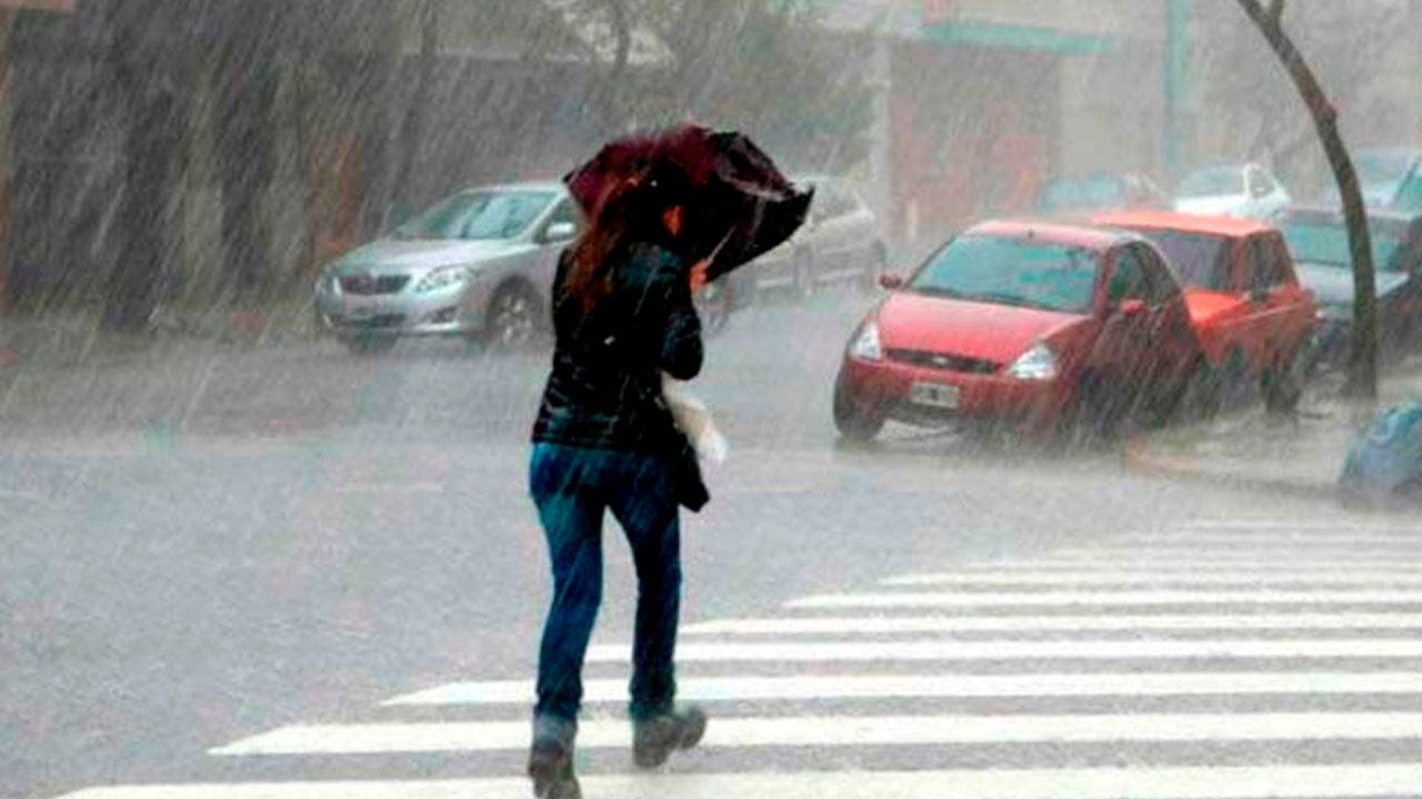 Clima de esta tarde lluvias