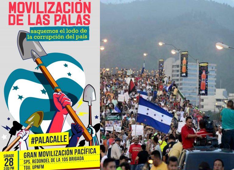 «#Palacalle»: Ciudadanos convocan a movilización contra la corrupción