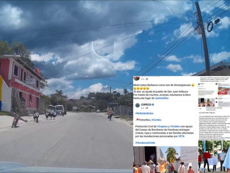 Ciudadanos de Intibucá denuncian a COPECO por atribuirse donaciones