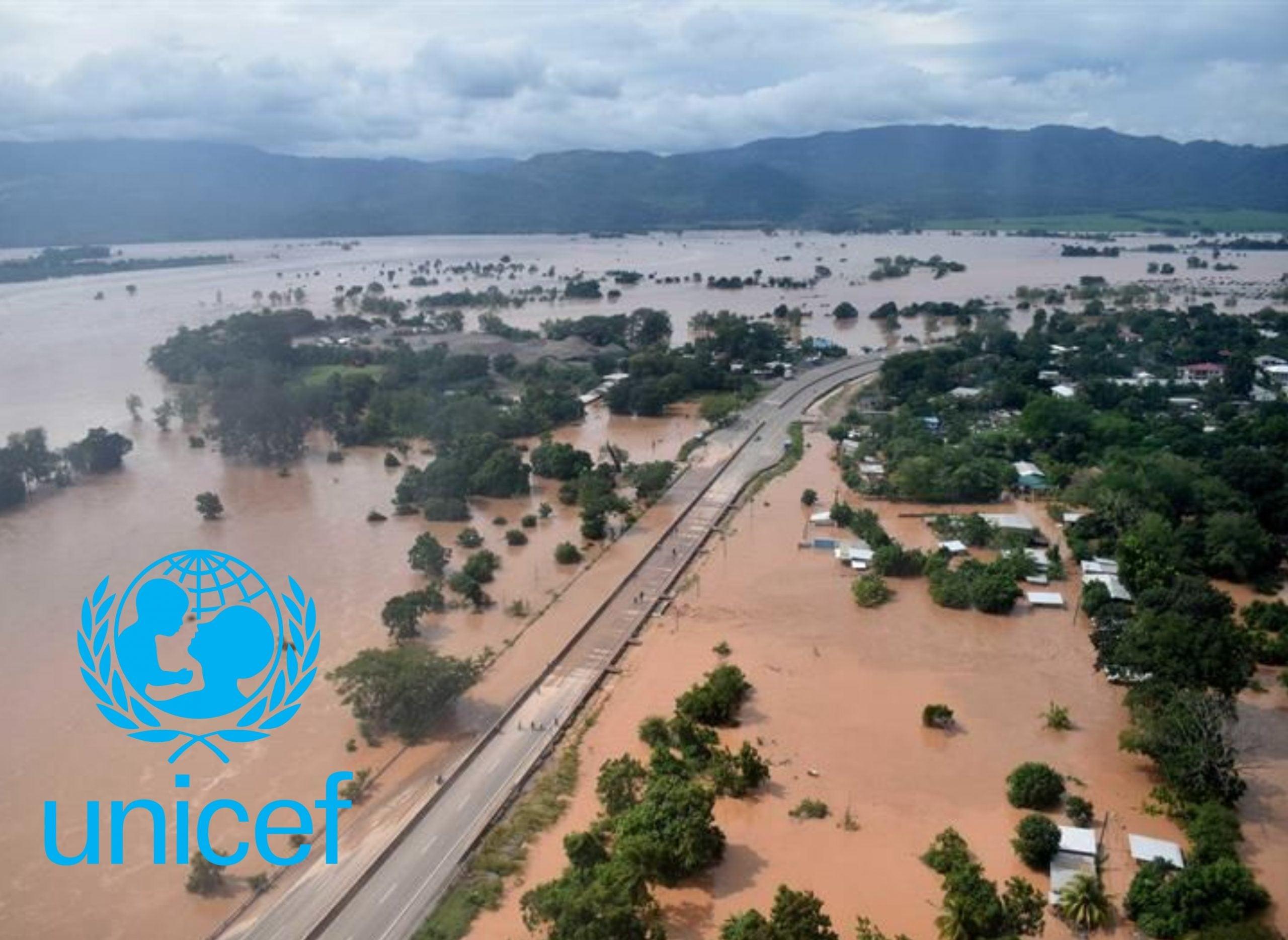 UNICEF apoyo afectados Eta Iota