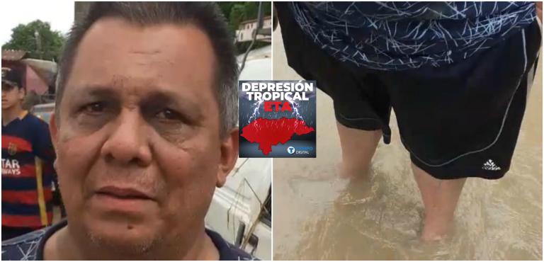 Dos días en el techo de su casa, el dramático relato de Elvis Guzmán