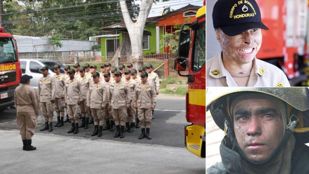 Hoy es el Día del Bombero en Honduras. El Cuerpo de Bomberos cumple 65 años de la fundación y Tiempo te trae dos heroicas historias.