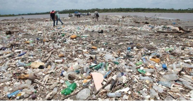 basura en río Motagua