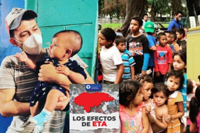 Ángel Fajardo niños damnificados