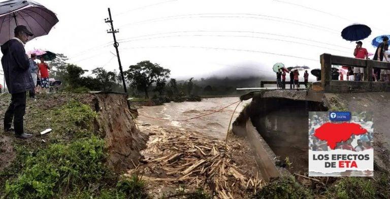 Eta Valle de Sula | Habrían adjudicado proyectos de emergencia que no se sabe nada de ellos