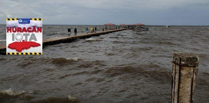 huracán Iota lluvias La Mosquitia