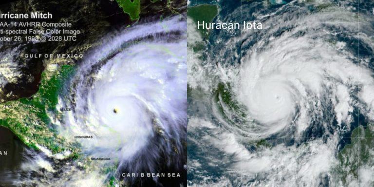 Honduras: Iota, un fenómeno que se parece cada vez más al huracán Mitch