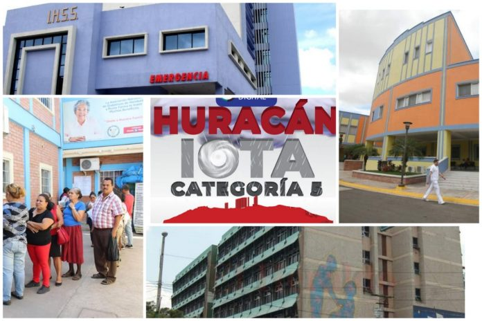 Iota Honduras hospitales