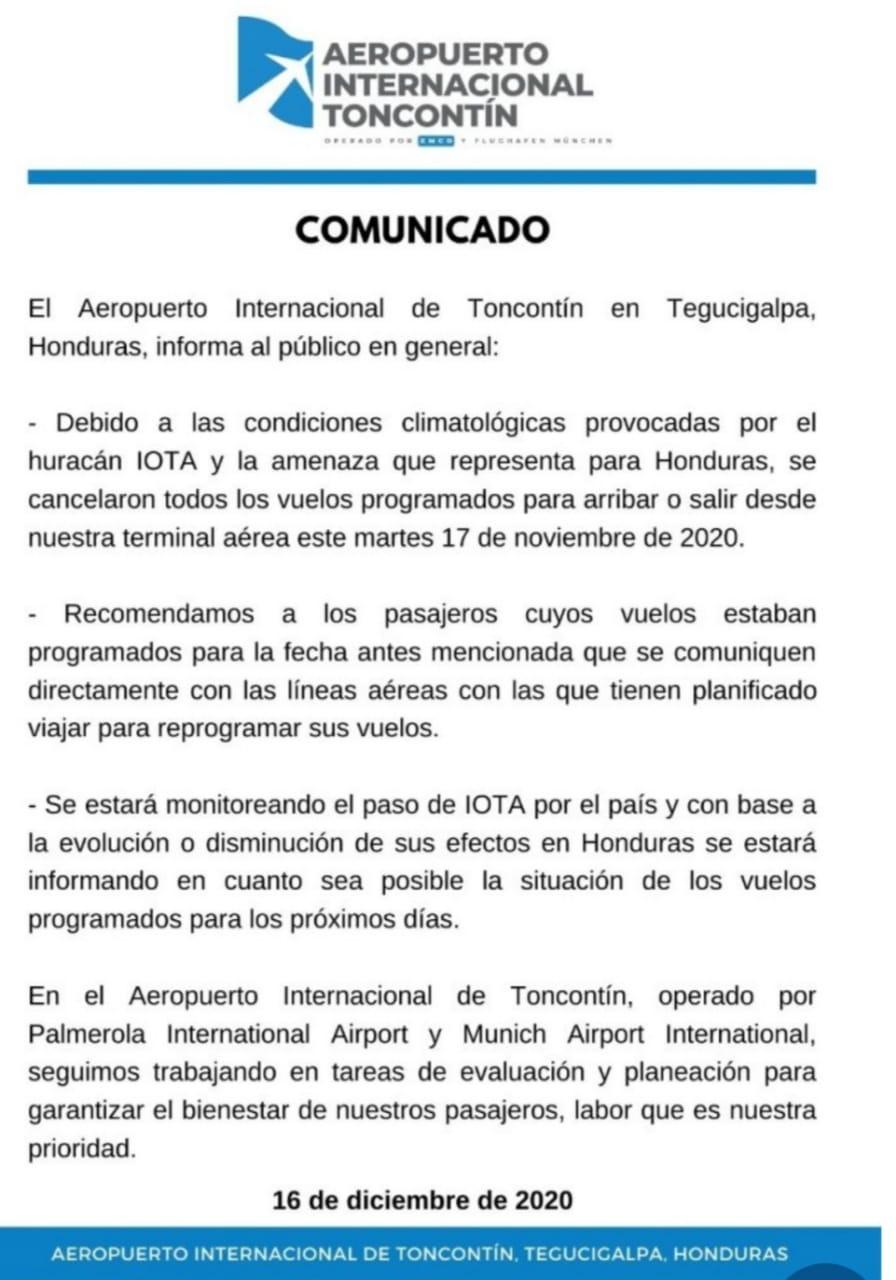 Aeropuerto Toncontín
