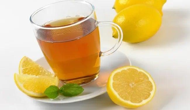 té de limón cáncer