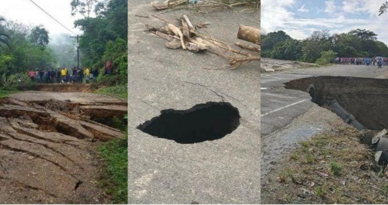 Tras paso de Eta e Iota, ¿cuáles son las carreteras que continúan sin acceso?