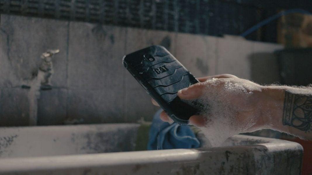 teléfono antibacterial