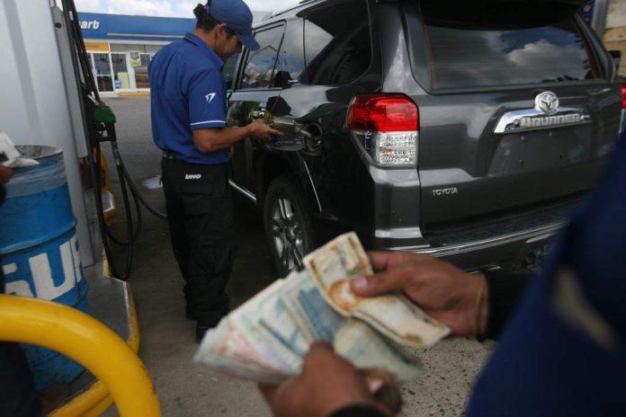 combustibles precios Honduras